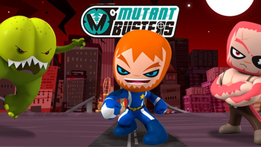 Montaje mutant Busters