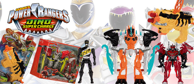 Juguetes Power rangers dino super charge